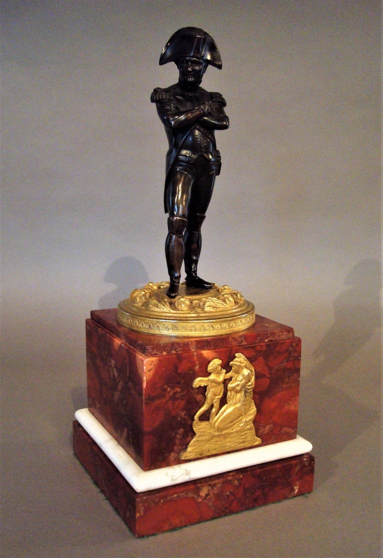 19th Century Bronze Statue of Napoleon Bonaparte For Sale 1