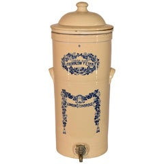 19th Century Brownlow Water Filter