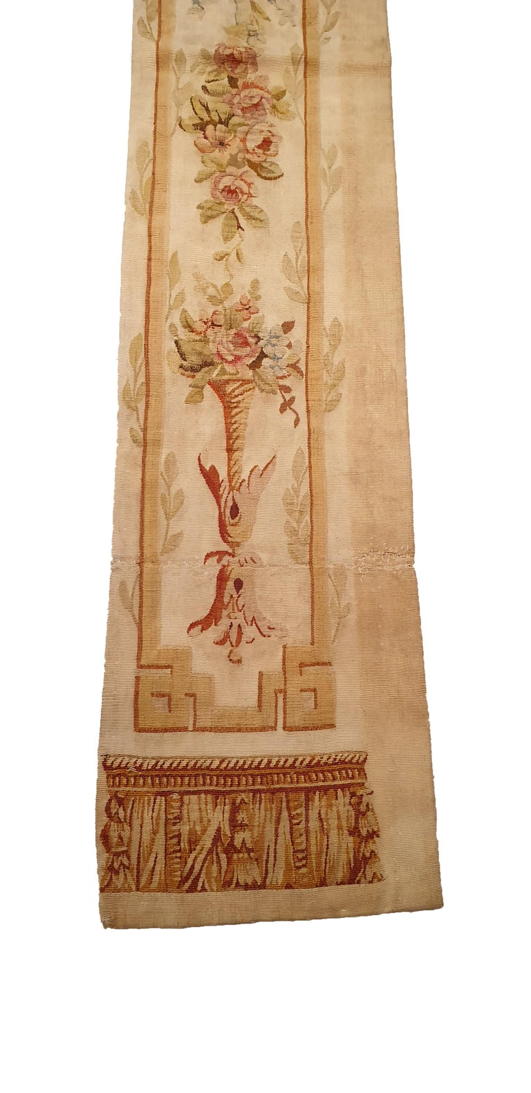 Aubusson 706 -  19th Century Brussels Handwoven Tapestry