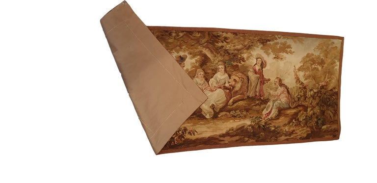 704 - 19th Century Brussels Handwoven Tapestry