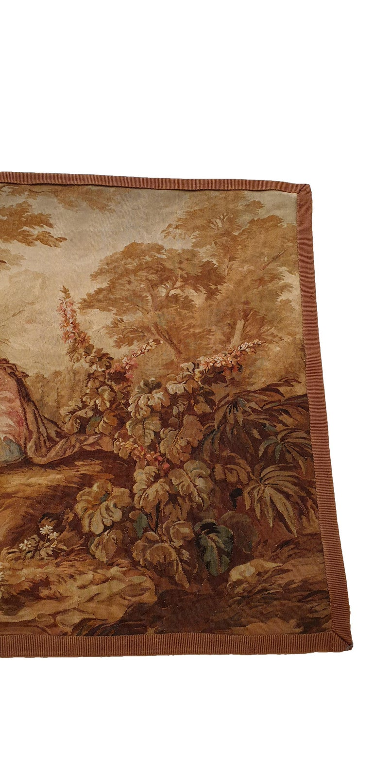 Louis XIV 704 - 19th Century Brussels Handwoven Tapestry