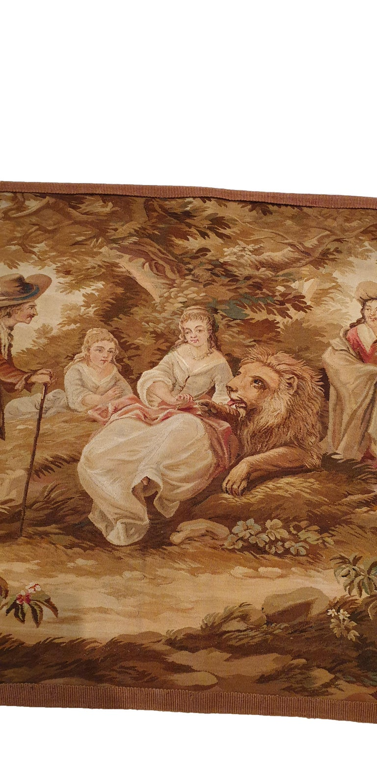 Early 19th Century 704 - 19th Century Brussels Handwoven Tapestry