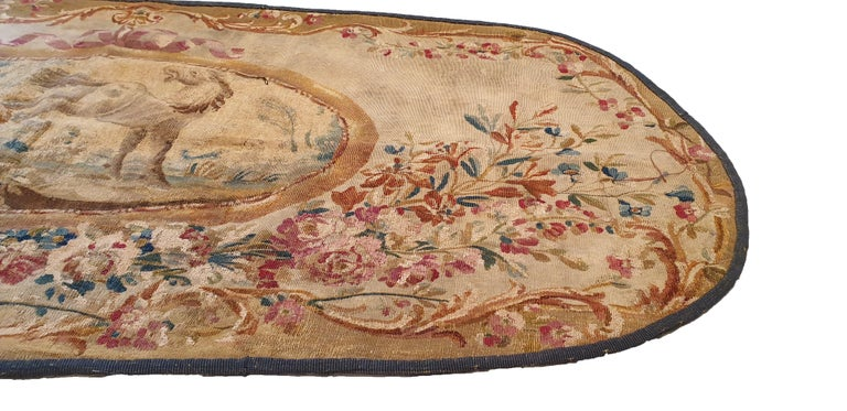 Louis XIV 707 - 19th Century Brussels Handwoven Tapestry