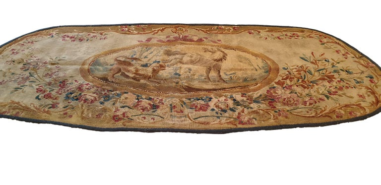 Belgian 707 - 19th Century Brussels Handwoven Tapestry