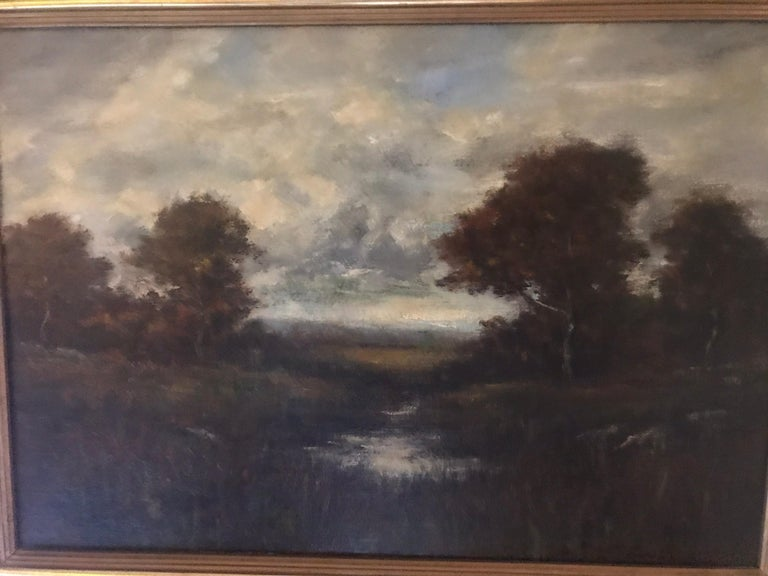 American 19th Century Bucolic Landscape Signed A. H. Wyant For Sale