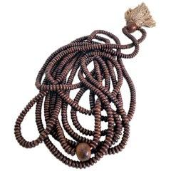 19th Century Buddhist Prayer 'Mala' Beads, Japan