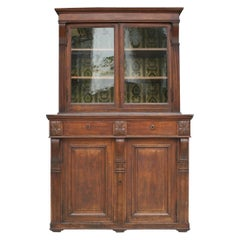 19th Century Buffet Cabinet Made of Oak