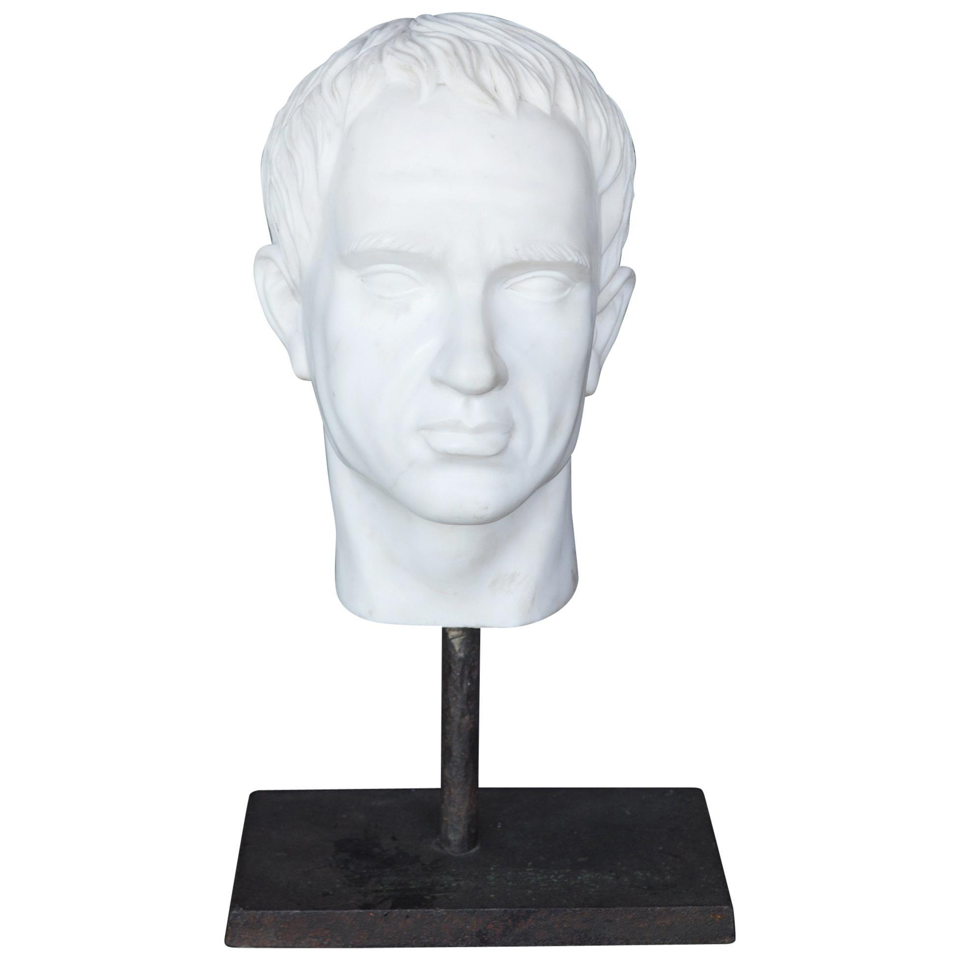 19th Century Bust of Julius Caesar