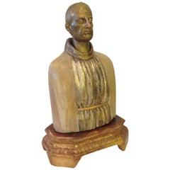 19th Century Bust of Saint Sebastian