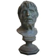19th Century Bust of Seneca