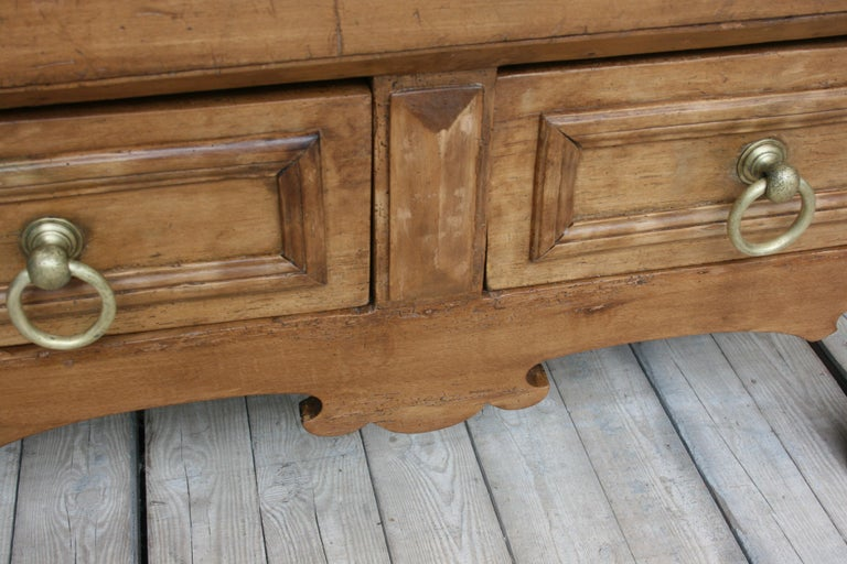 19th Century Butcher Block Table from Belgium For Sale 10