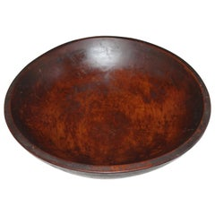 19th Century Butter Bowl with Amazing Original Surface