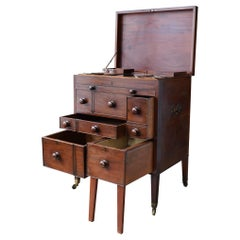 19th Century Campaign Dressing Table