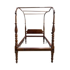 19th Century Canopy Bed