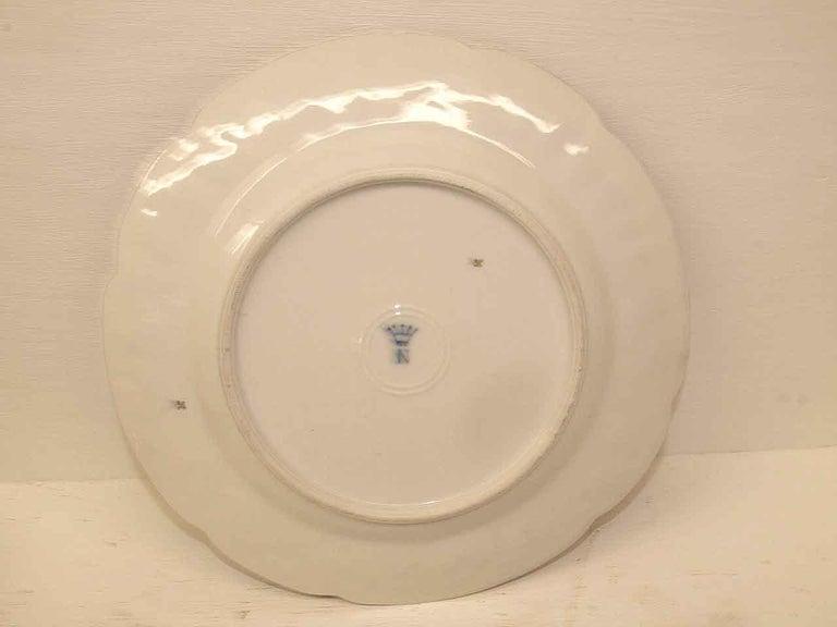 19th Century Capodimonte Plate For Sale 1