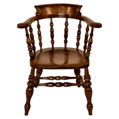 19th Century Captain's Chair
