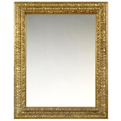 19th Century Carved Italian Later Baroque Frame, with Choice of Mirror