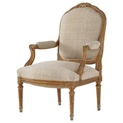 19th Century Carved Wood Chair
