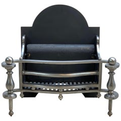 19th Century Cast Iron Fire Basket