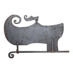 19th Century Cast Iron Shoemaker's Trade Sign