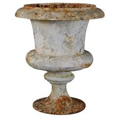 19th Century Cast Iron Urn