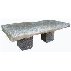 19th Century Catalonian Stone Table