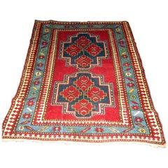 19th Century Caucasian Kazak Rug