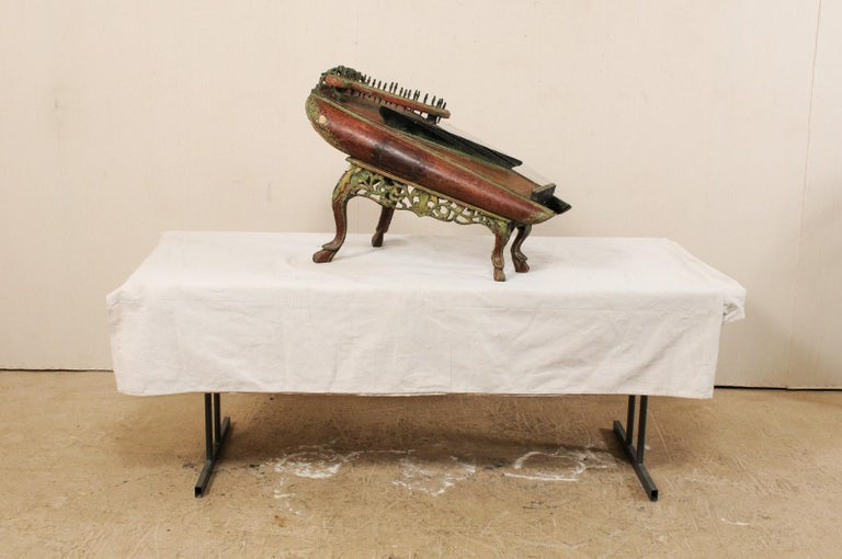 19th Century Celempung Musical Instrument from Java, Indonesia For Sale 5