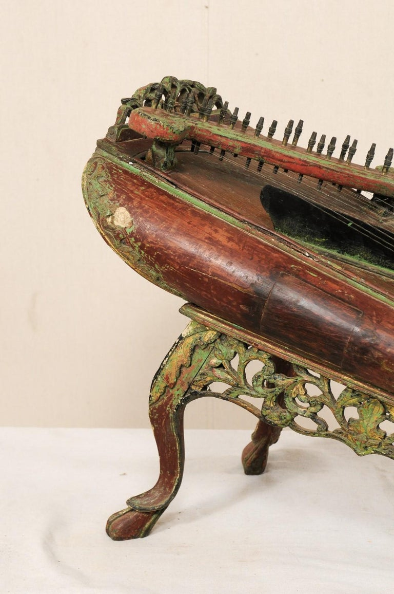 Indonesian 19th Century Celempung Musical Instrument from Java, Indonesia For Sale