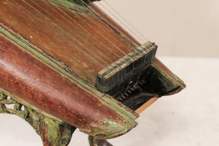 Wood 19th Century Celempung Musical Instrument from Java, Indonesia For Sale