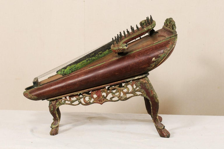 19th Century Celempung Musical Instrument from Java, Indonesia For Sale 1