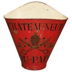 19th Century Chateauneuf Du Pape Grape Harvesting Hotte