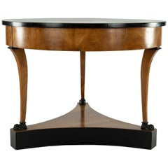 19th Century Cherrywood and Lacquered Center Table