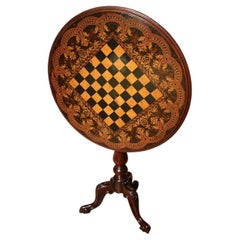 19th Century Chess Table
