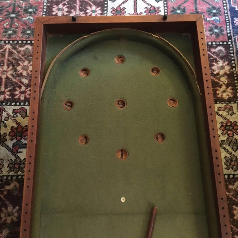 19th Century Child's Mahogany Bagatelle Table, circa 1840 For Sale 6