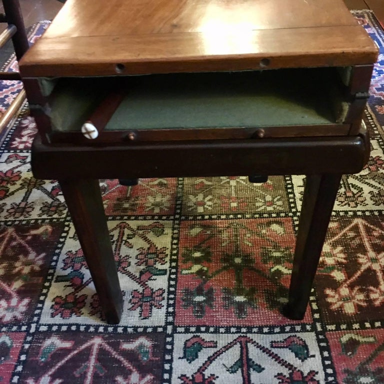 English 19th Century Child's Mahogany Bagatelle Table, circa 1840 For Sale