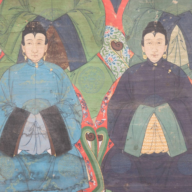 19th Century Chinese Ancestral Painting For Sale 2