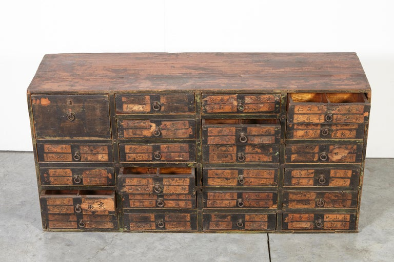 19th Century Chinese Apothecary Cabinet For Sale 13