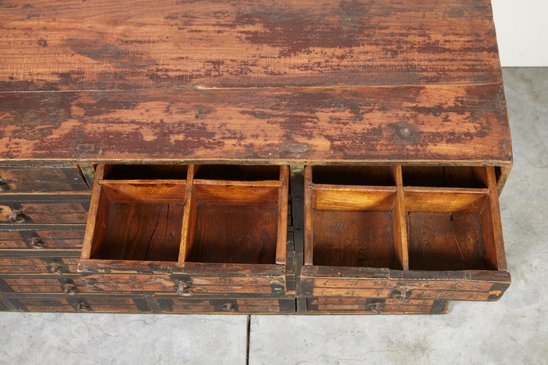 19th Century Chinese Apothecary Cabinet For Sale 3