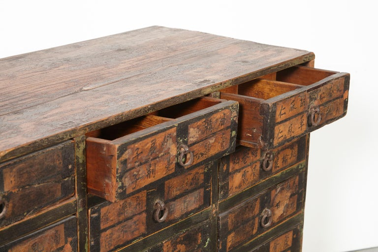 19th Century Chinese Apothecary Cabinet For Sale 4