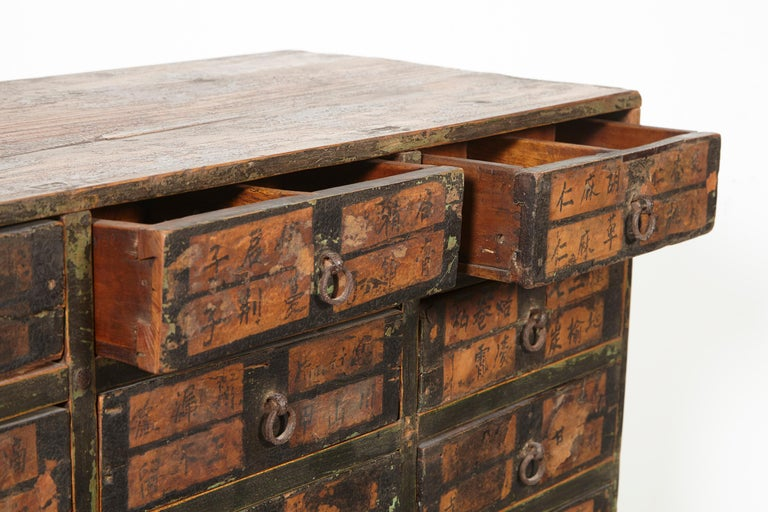 19th Century Chinese Apothecary Cabinet For Sale 5
