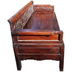 19th Century Chinese Bench Sofa