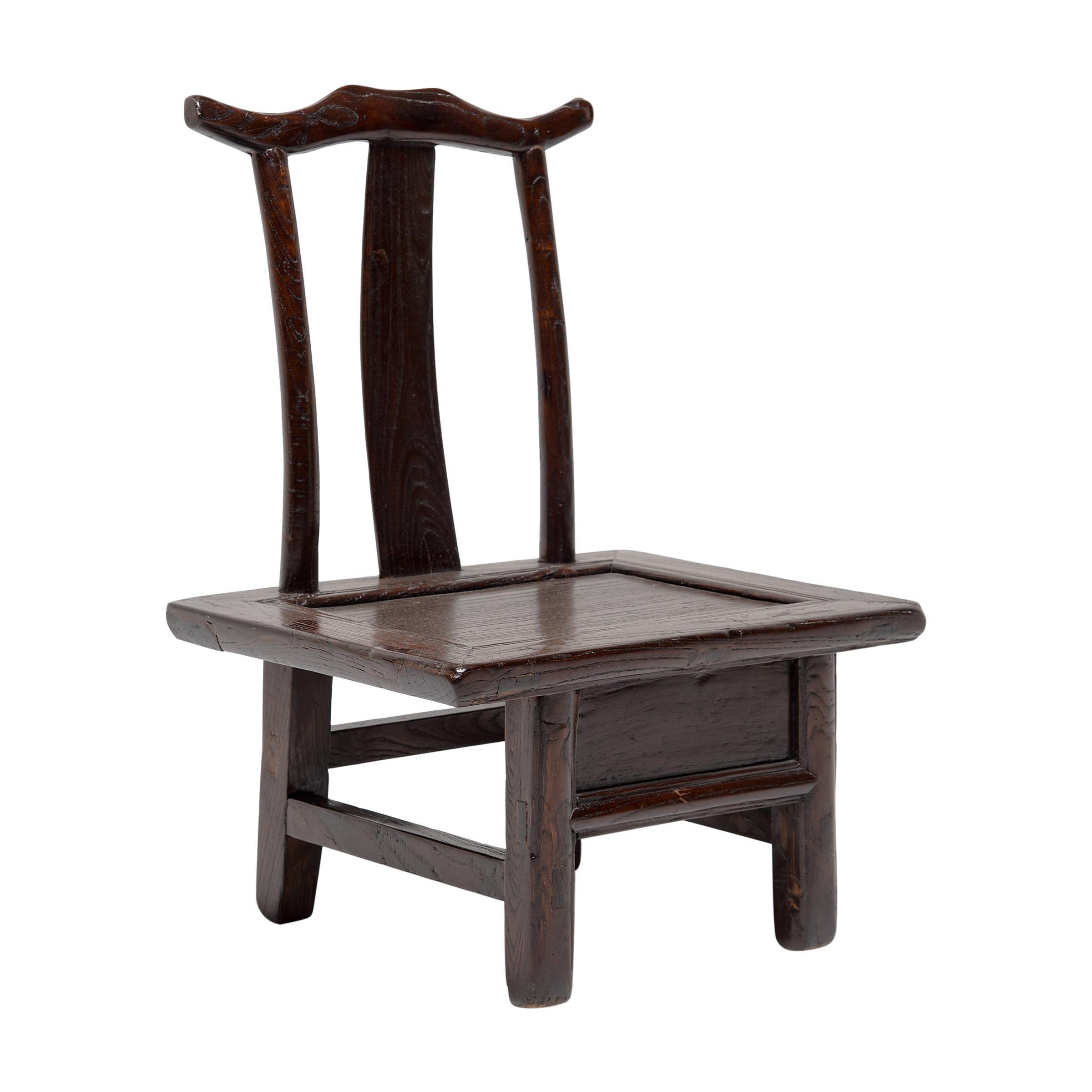 19th Century Chinese Children's Lamphanger Chair