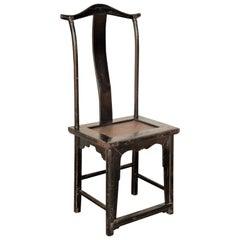 19th Century Chinese Classic Yoke Back Chair