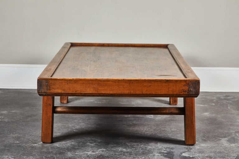 19th Century Chinese Coffee Table In Good Condition For Sale In South Pasadena, CA