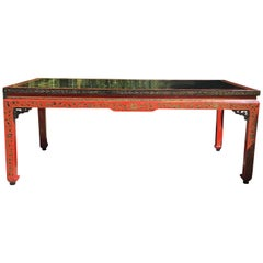 19th Century Chinese Coffee Table, Quing Dynasty