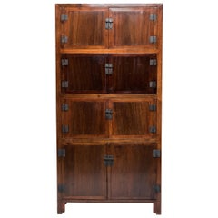19th Century Chinese Convertible Book Cabinet