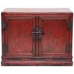 19th Century Chinese Daqi Door Cabinet