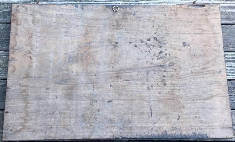 "Wood 19th Century Chinese Doctor's ""Bamboo"" Trade Sign For Sale"