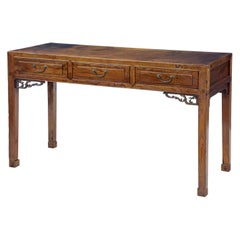 19th Century Chinese Elm Console Table